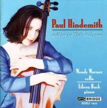 Paul Hindemith (1895-1963): Werke f.Cello & Klavier, CD