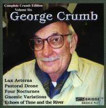 George Crumb (geb. 1929): Echoes of Time and the River, CD