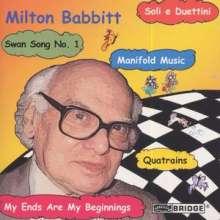 Milton Babbitt (1916-2011): Kammermusik, CD