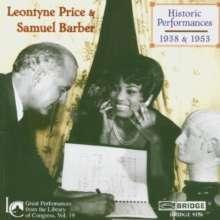 Leontyne Price - Library of Congress Recital 1953, CD