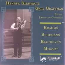 Henryk Szeryng at the Library of Congress, CD