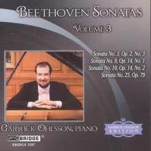 Ludwig van Beethoven (1770-1827): Klaviersonaten Vol.3, CD