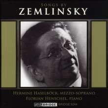 Alexander von Zemlinsky (1871-1942): Lieder, CD