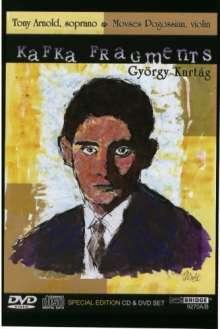 György Kurtag (geb. 1926): Kafka-Fragmente für Sopran & Violine, 1 CD und 1 DVD