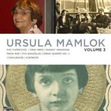 Ursula Mamlok (1923-2016): The Music of Ursula Mamlok Vol.3, CD