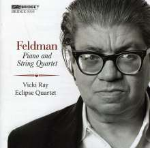 Morton Feldman (1926-1987): Piano & String Quartet, CD