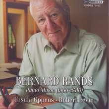 Bernard Rands (geb. 1934): Klavierwerke, CD