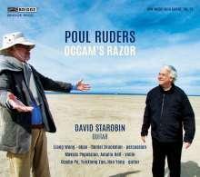 """Poul Ruders (geb. 1949): Werke für Gitarre """"Occam's Razor"""", CD"""