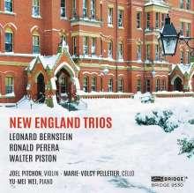 Amerikanische Klaviertrios - New England Trios, CD