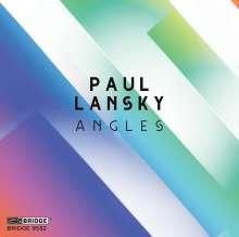Paul Lansky (geb. 1944): Angels für Klaviertrio, CD