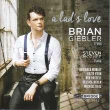 Brian Giebler - A Lad's Love, CD
