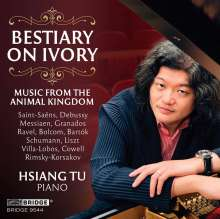 Hsiang Tu - Bestiary on Ivory, CD