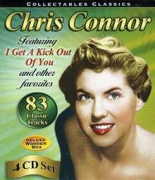 Chris Connor (1927-2009): Collectables Classics (7 LPs auf 4 CDs), 4 CDs
