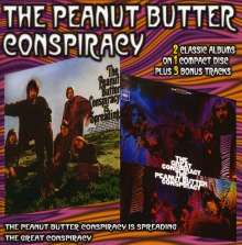 Peanut Butter Conspir.: ..Is Spreading/Great Conspiracy, CD
