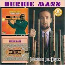 Herbie Mann (1930-2003): Our Mann Flute / Impressions of the Middle East, CD