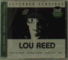 Lou Reed: Extended Versions - Liv, CD