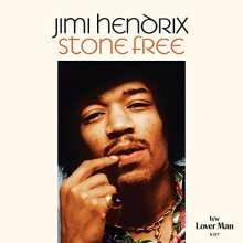 "Jimi Hendrix: Stone Free/Lover Man, Single 7"""