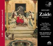 Wolfgang Amadeus Mozart (1756-1791): Zaide KV 344, CD