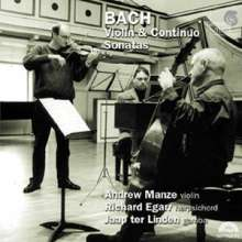 Johann Sebastian Bach (1685-1750): Sonaten für Violine & Cembalo BWV 1014-1019,1021,1023,1024, 2 CDs