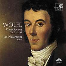 Joseph Wölfl (1773-1812): Klaviersonaten op.33 Nr.1-3, CD