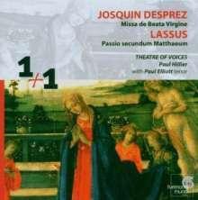Josquin Desprez (1440-1521): Missa de Beata Virgine, 2 CDs