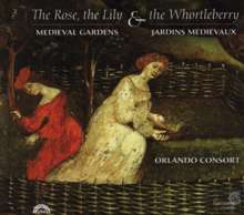 Medieval Gardens in Music - Rose,Lily,Whortleberry, CD