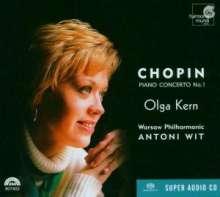 Frederic Chopin (1810-1849): Klavierkonzert Nr.1, SACD