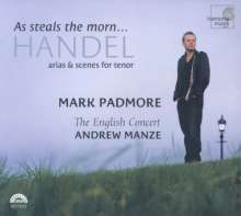 "Mark Padmore - Händel-Arien ""As steals the morn"", CD"