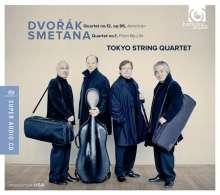 Tokyo String Quartet - Dvorak & Smetana, Super Audio CD