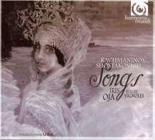Iris Oja singt Lieder von Rachmaninoff & Schostakowitsch, CD