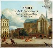 Georg Friedrich Händel (1685-1759): 12 Solo-Sonaten op.1, 2 CDs