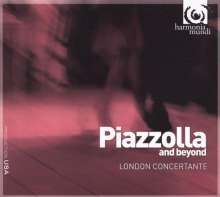 London Concertante - Piazzolla and beyond, CD