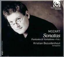 Wolfgang Amadeus Mozart (1756-1791): Klaviersonaten Vol.1, CD