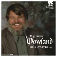 Paul O'Dette - My Favorite Dowland, CD