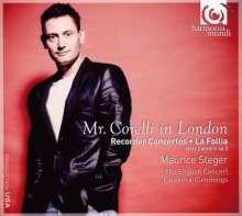 Arcangelo Corelli (1653-1713): Blockflötenkonzerte Nr.4,7,8,10 nach den Sonaten op.5, CD