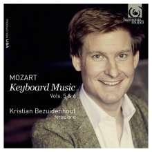 Wolfgang Amadeus Mozart (1756-1791): Klaviersonaten Vol.5 &  6, 2 CDs