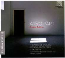 Arvo Pärt (geb. 1935): Creator Spiritus - Geistliche Werke & Kammermusik, Super Audio CD