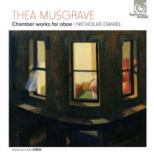 Thea Musgrave (geb. 1928): Kammermusik für Oboe, CD