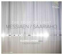 """Olivier Messiaen (1908-1992): Piece pour piano et quatuor a cordes """"The Edge of Light"""", CD"""