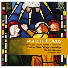 Clare College Choir Cambridge - Ascendit Deus, CD