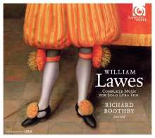 William Lawes (1602-1645): Complete Music for Solo Lyra Viol, CD