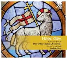 Clare College Choir Cambridge - Haec Dies (Musik zu Ostern), CD