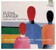 Elena Langer (geb. 1974): Landscape with Three People - Lieder und Kammermusik, CD