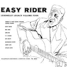 Leadbelly (Huddy Ledbetter): Easy Rider, LP