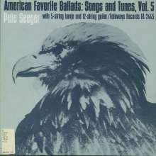 Pete Seeger: American Favorite Ballads Vol, CD