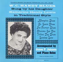 Katharine Handy Lewis: W. C. Handy Blues: As Sung By, CD