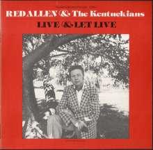 Red Allen: Live & Let Live, CD