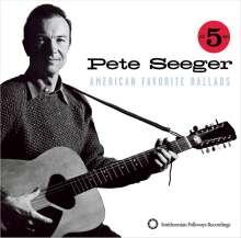 Pete Seeger: American Favorite Ballads Vol. 1 - 5 (Box-Set in Buchform), 5 CDs