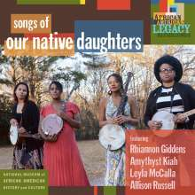 Songs Of Our Native Daughters, CD