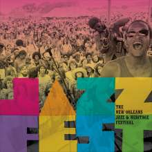 The New Orleans Jazz & Heritage Festival, 5 CDs